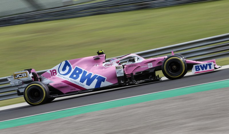 Sergio Perez Racing Point - AFP