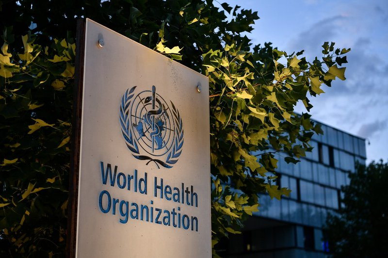 World Health Organization Logo - AFP