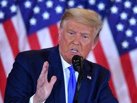 Donald Trump Election Night  - AFP