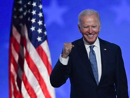President-elect Joe Biden  - AFP