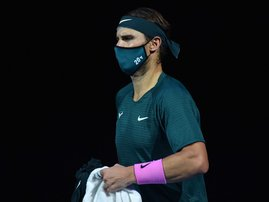 Rafael Nadal mask - AFP