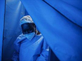 South Africa Covid-19 Nurse - AFP