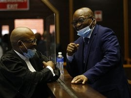 Jacob Zuma court May 17 2021 - AFP