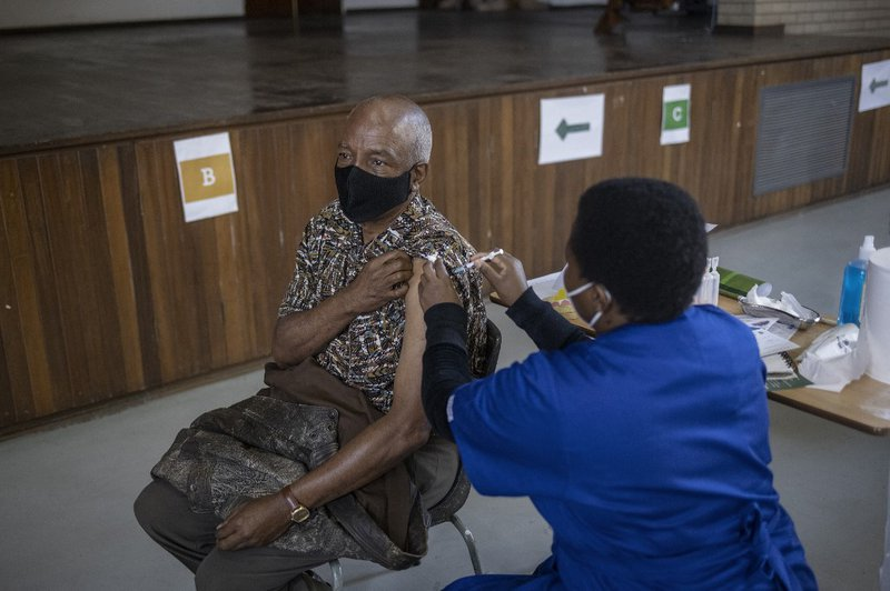 South Africa Covid19 Vaccine - AFP