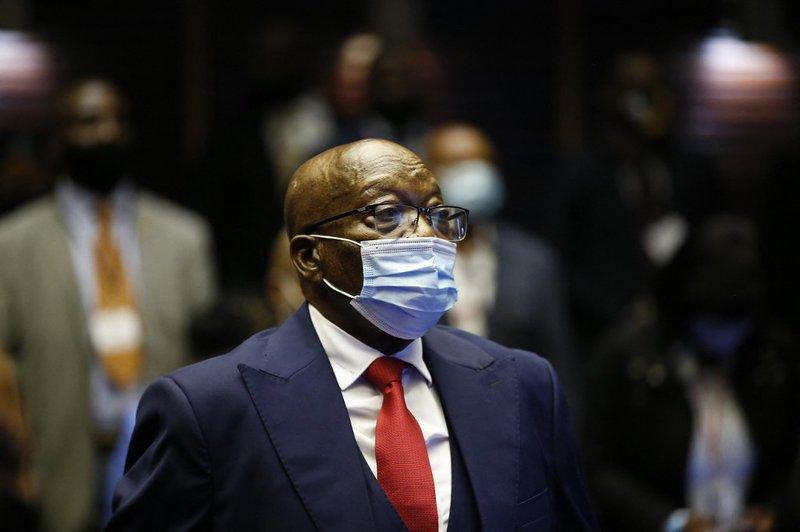 Jacob Zuma Court - AFP