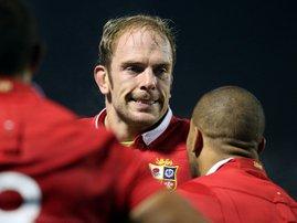 Alun Wyn Jones Lions - AFP