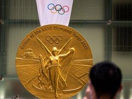 Tokyo Olympics Gold Medal - AFP