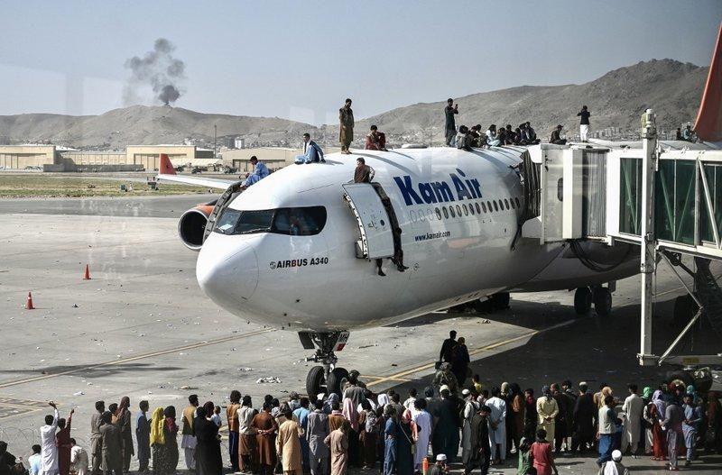 Kabul Airport - AFP
