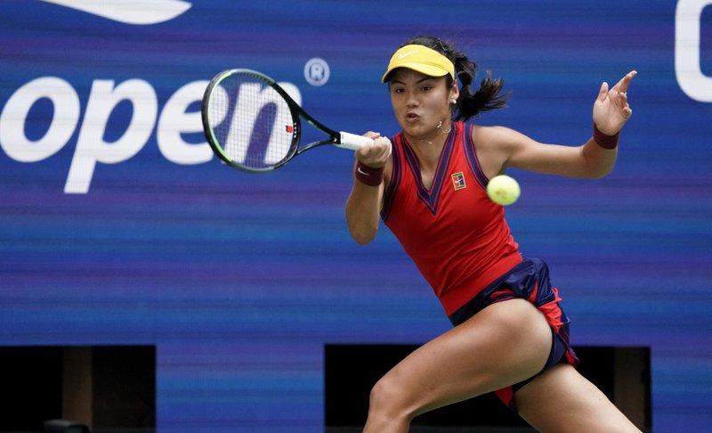 Emma Raducanu US Open - AFP