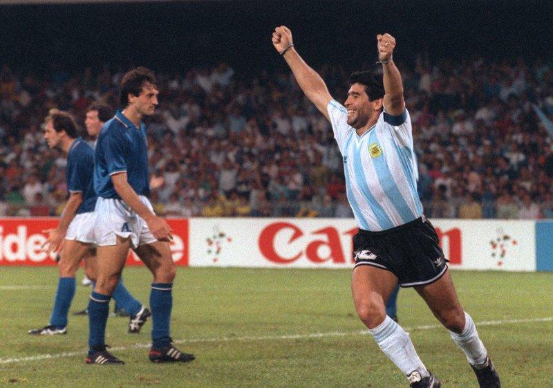 Diego Maradona Argentina - AFP