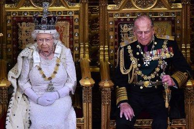Britain's Prince Philip hospitalised