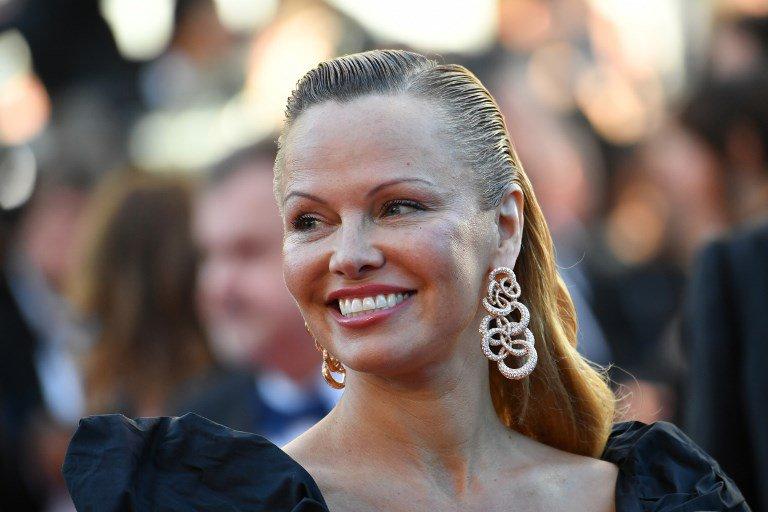 Pamela Anderson at Cannes 2_afp
