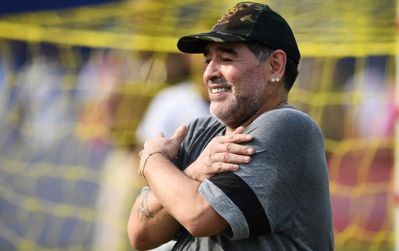 Diego Maradona  - AFP