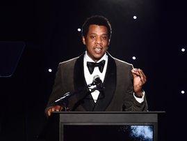 Jay Z Jewel SAMAD / AFP