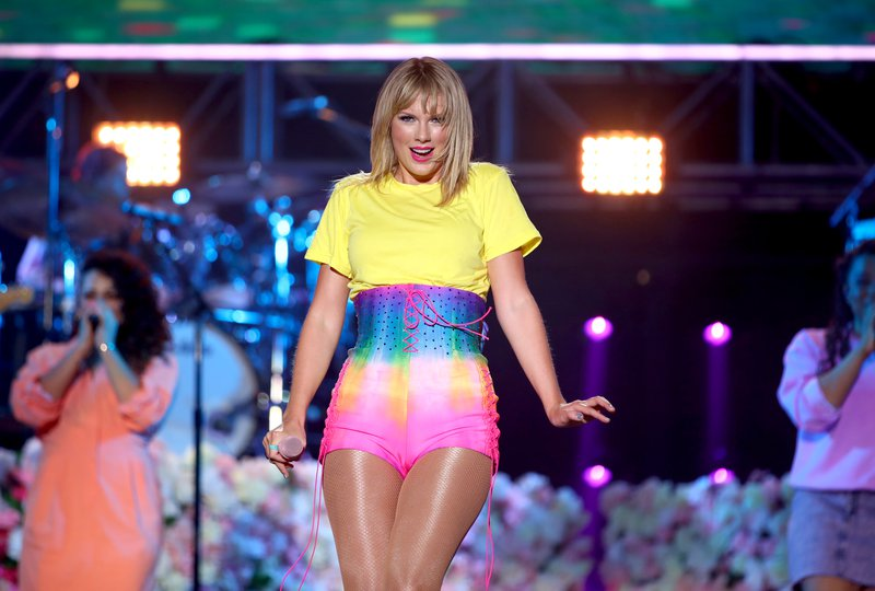 Taylor swift Rich Fury/Getty Images for iHeartMedia/AFP