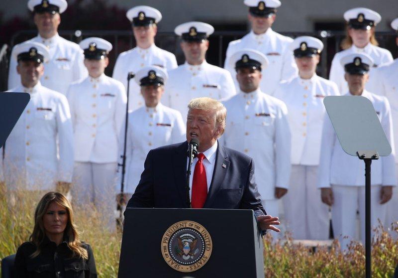 Donald Trump during 9/11