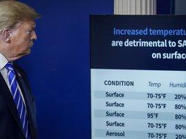 Donald Trump Covid19 - AFP