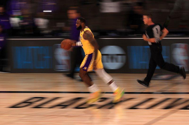LeBron James LA Lakers - AFP