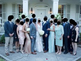 Mother of groom has identical dress to daughter in law at wedding / Mirror.co.uk