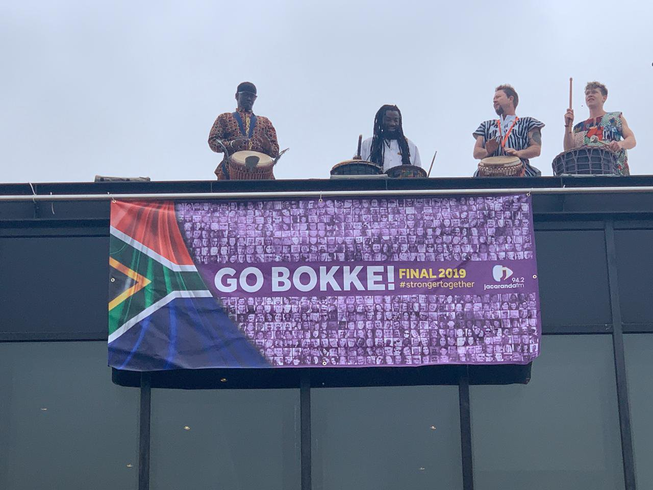 Jacaranda FM Springbok Supporters Flag