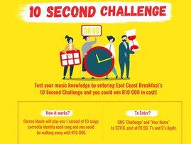 10 sec challenge artwork