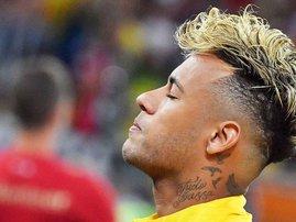 Neymar new hairstyle