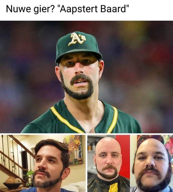 Aapstert baard challenge