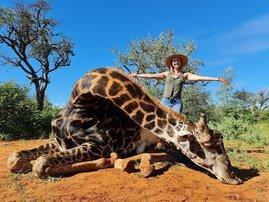 Woman with giraffe's heart