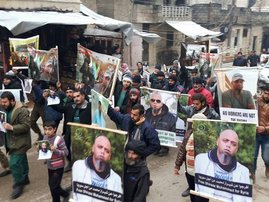 Protests Syria Gift of the Givers