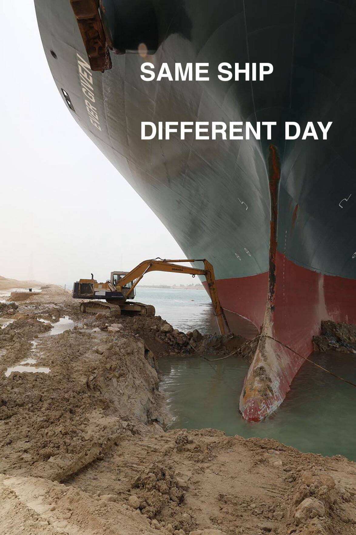 Same Ship different day