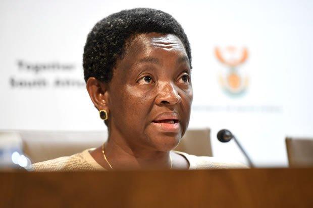 Bathabile Dlamini accounts to SCOPA in Parliament