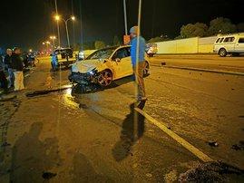 Julian Jansen crash