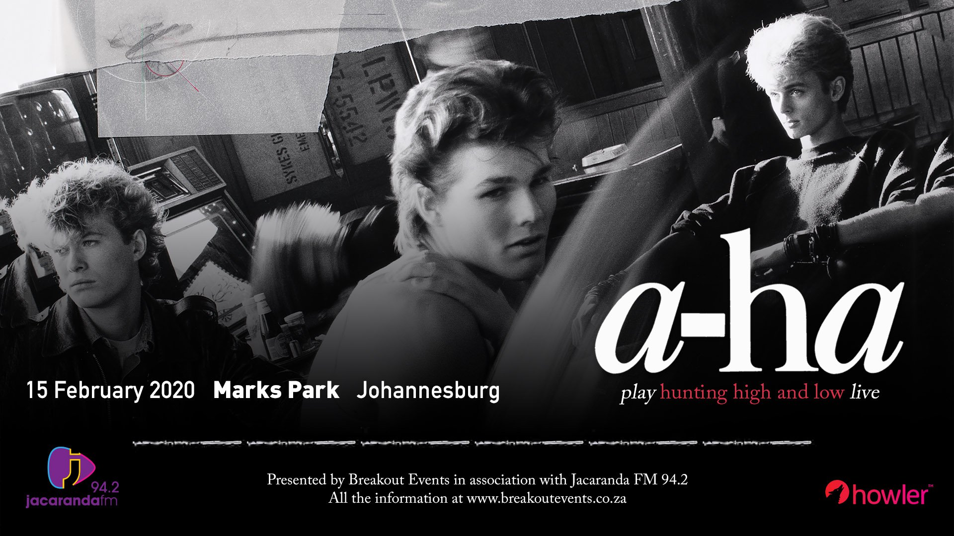 a-ha event page