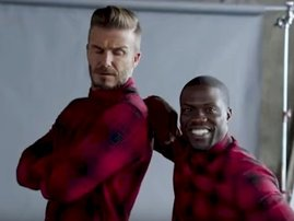 David Beckham and Kevin Hart spend some quality time together