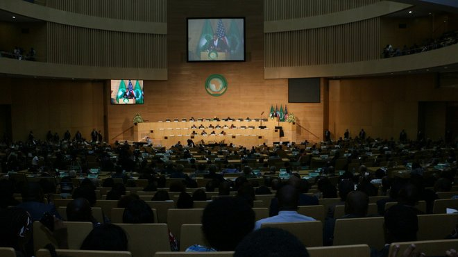 African Union chamber
