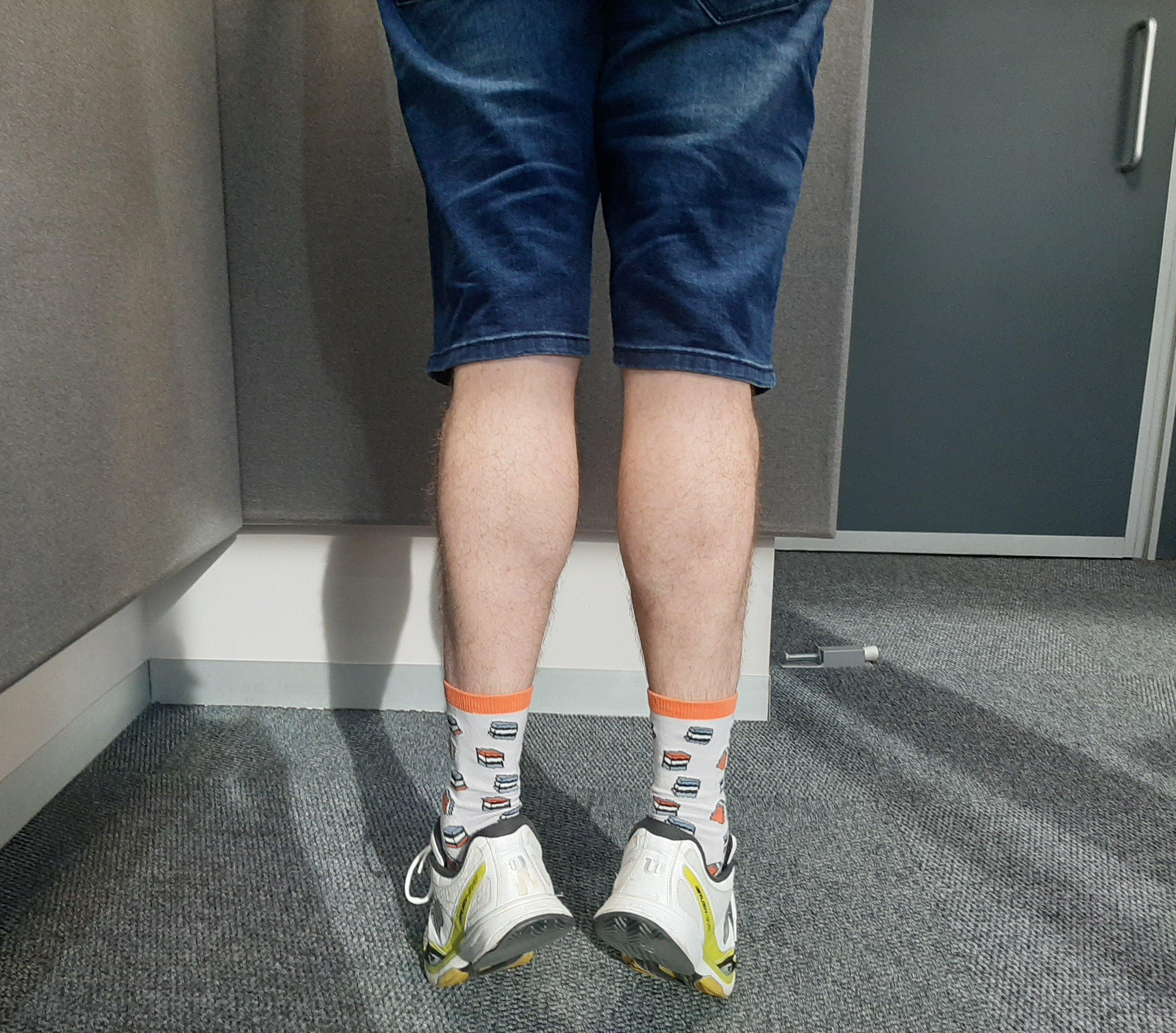 Darren's legs
