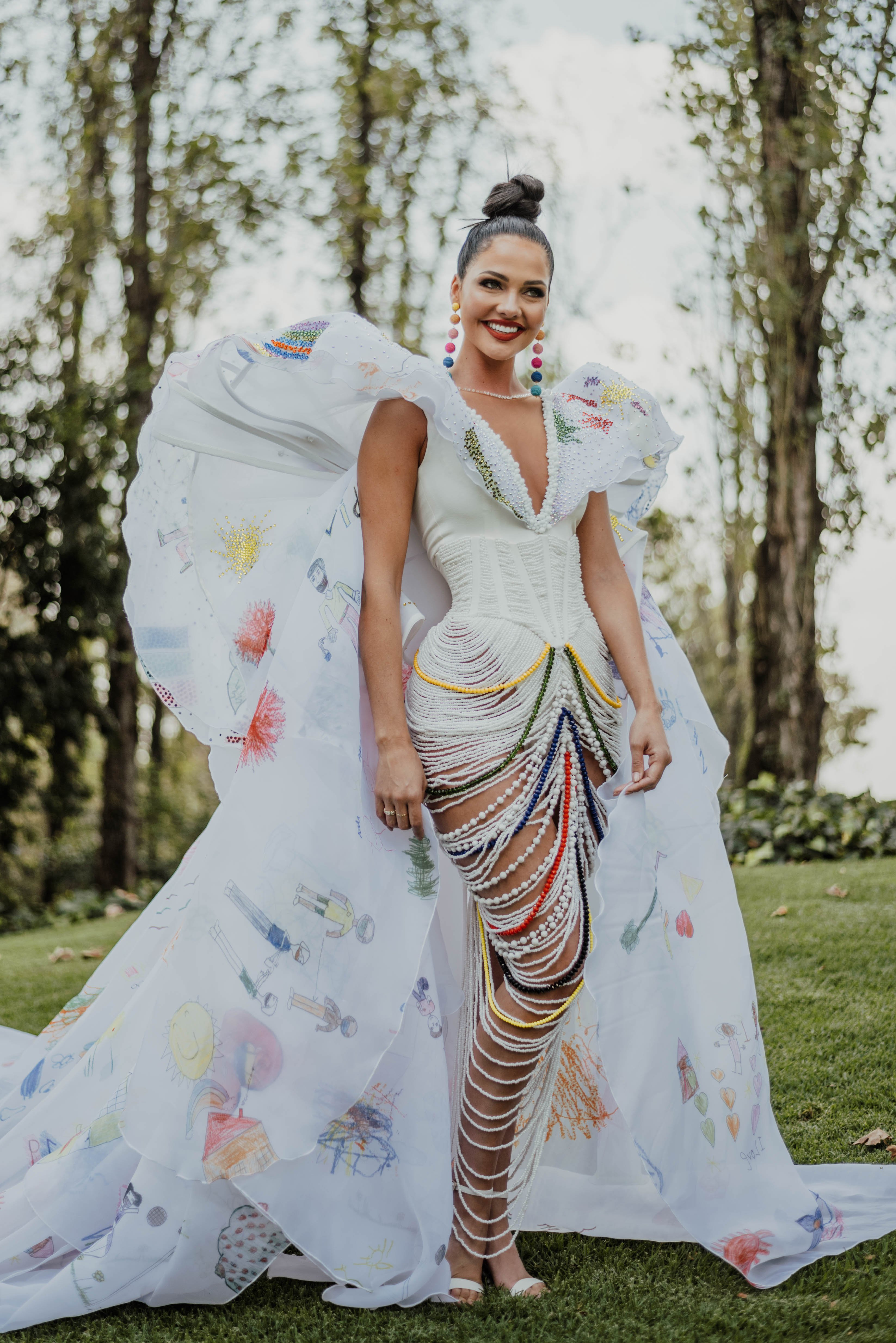 Miss SA organisation outfit