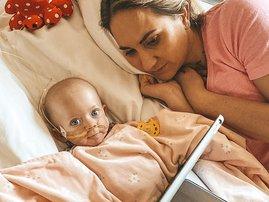 "Mackenzie ""Mighty Mack"" Friedman 8 months old battling acute myeloid leukaemia"