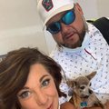 Couple discovers stowaway while checking in for flight