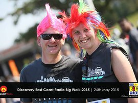 Discovery East Coast Radio Big Walk