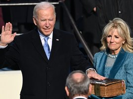 Joe Biden sworn in