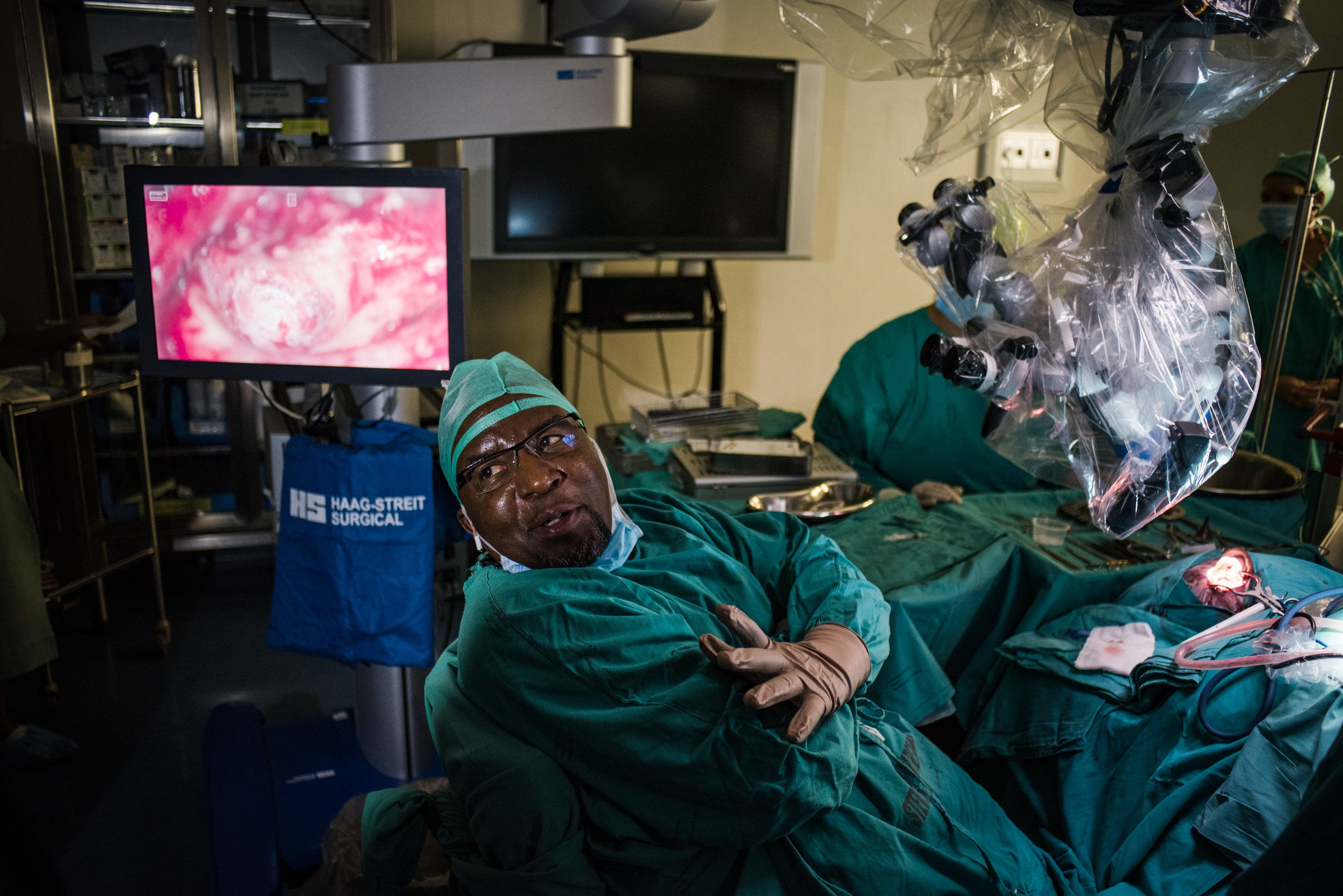 South Africa performs world's first successful middle ear transplant