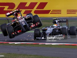 Vettel crash