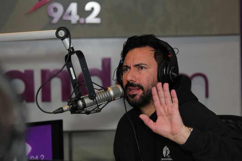 Martin Bester in studio on 22 July 2021