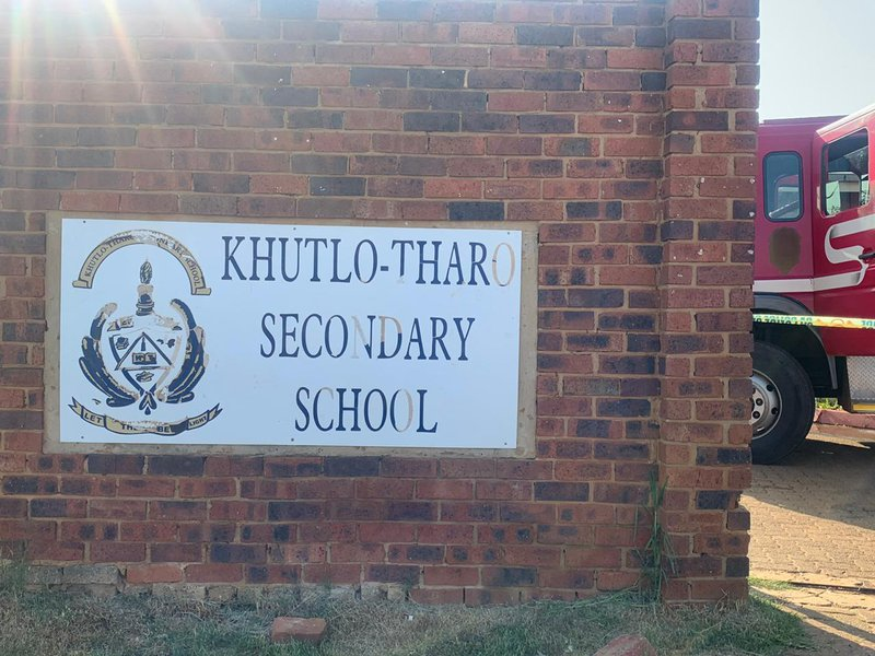 suicide attempt at Sebokeng High School
