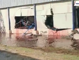 WATCH: 50,000 litres of wine - lost...