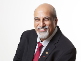 Professor Salim Karim Breakfast