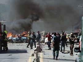 Kabul Polling blast