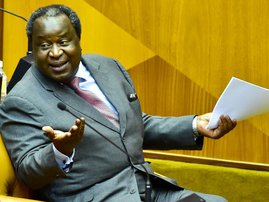 Tito Mboweni economy flights