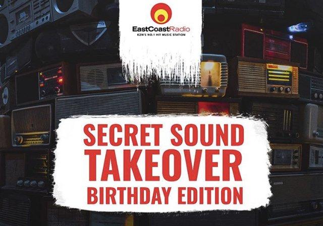 East Coast Radio Secret Sound birthday edition / Supplied